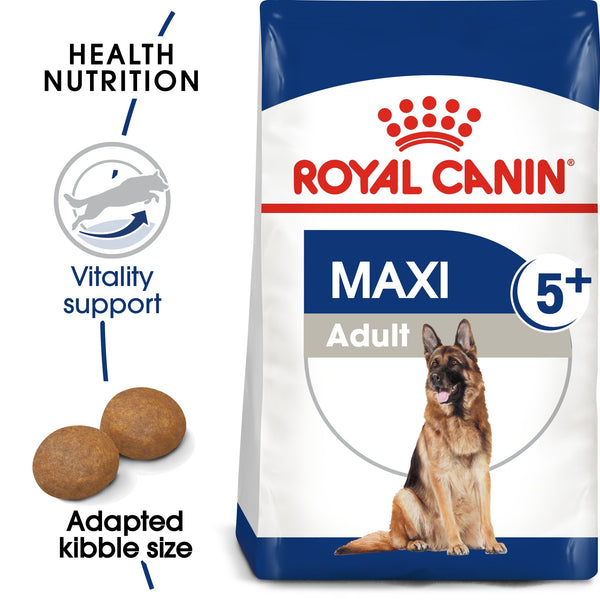 SIZE HEALTH NUTRITION MAXI ADULT 5+ 15 KG (4598875815989)