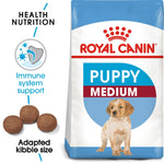 SIZE HEALTH NUTRITION MEDIUM PUPPY (4598906945589)