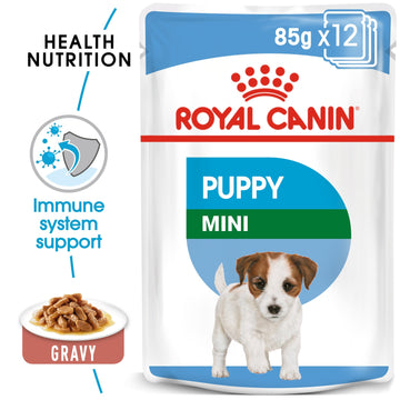 SIZE HEALTH NUTRITION MINI PUPPY (WET FOOD - POUCH)