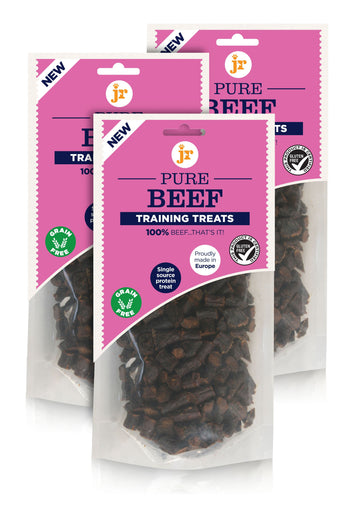 PURE BEEF TRAINING TREATS 85G