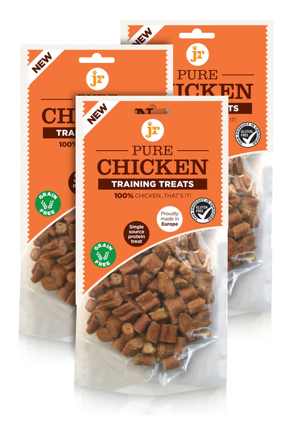 PURE CHICKEN TRAINING TREATS 85G (4600390221877)