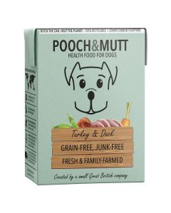Pooch & Mutt Turkey & Duck Dog Wet Food (375g) (4597575122997)