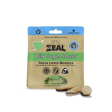 Zeal Wild Caught Green Lipped Mussels 50g