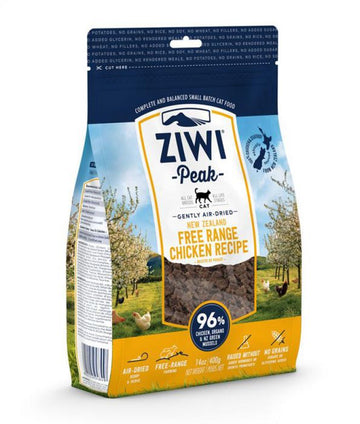 ZiwiPeak Air Dried Chicken Recipe Cat Food (400gr)