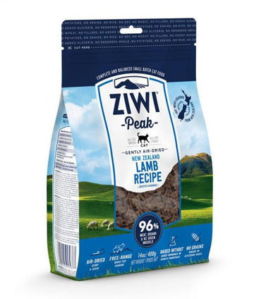 ZiwiPeak Air Dried Lamb Recipe Cat Food (1 kg)