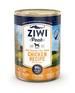 ZiwiPeak Chicken Recipe Canned Dog Food (390g)