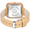 Modor Diva's Choice Square Beige Dial Analog Watch  - For Women