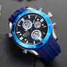 Wrath Blockbuster Blue Analog & Digital Luxury Watch for Men & Boys (1623_Blue).