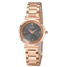 Gedi Classy Luxe Black & Rose Gold Luxury Watch For Women & Girls