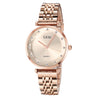 Gedi Princess Cut Jewel Studded Luxury Watch For Women & Girls