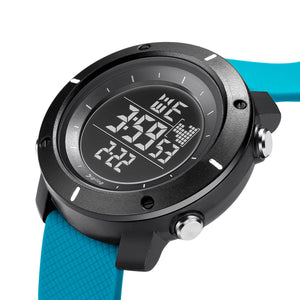 Digilog Force Light Blue Activewear Classy Digital Multi Function Watch For Men & Boys