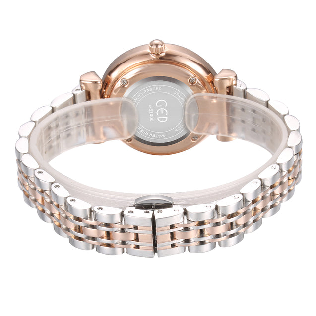 Gedi Classy Trends Dual Color Luxury Watch For Women & Girls