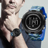 Digilog Special Ops Black & Blue Camouflage Digital Multi Function Watch For Men & Boys