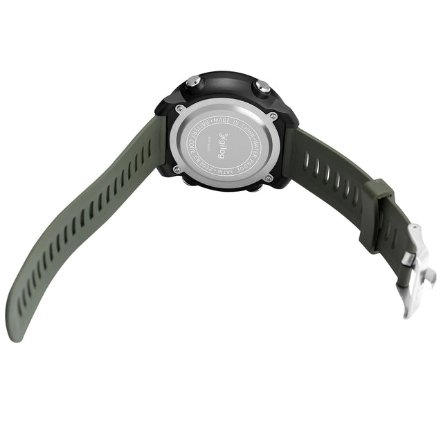 Digilog Badass Military Green Digital Day Date Multifunction Watch For Men & Boys