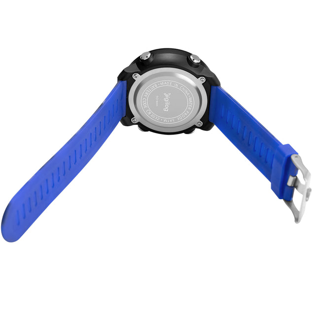 Digilog Badass Blue Camouflage Digital Day Date Multifunction Watch For Men & Boys