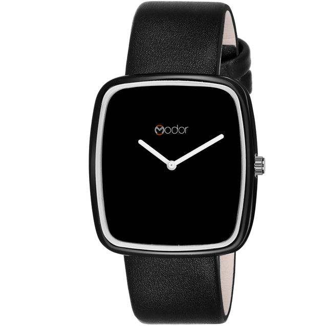 Modor Stunning Looks Black Strap Analog Watch  - For Women