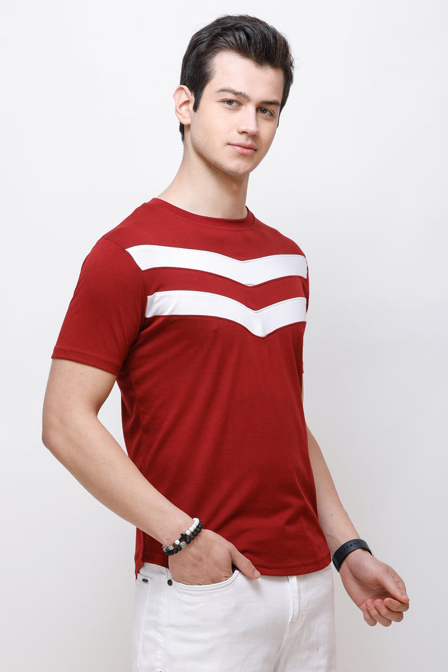 Wrath SuperHero Maroon T-Shirt for Men & Boys