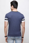 Wrath Dashing Guy Melange Blue T-Shirt For Men & Boys