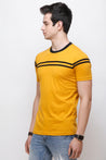 Wrath Effortless Charm Yellow T-Shirt for Men & Boys