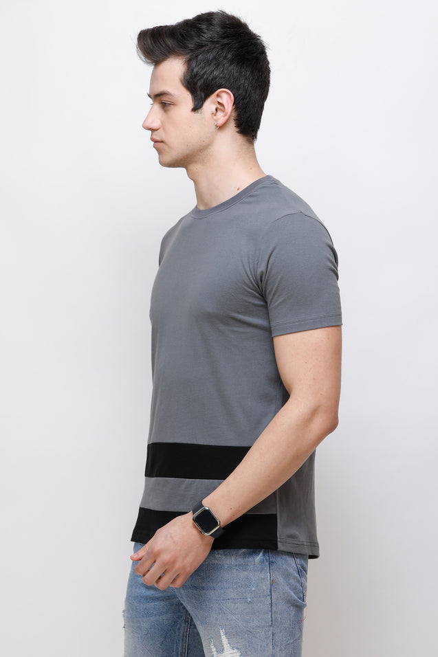 Wrath Minimal Charm Gray T-Shirt For Men & Boys