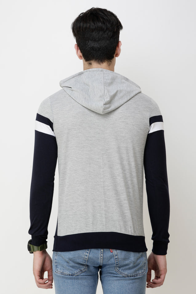 Wrath Gentleman Gray Black Hoodie For Men & Boys