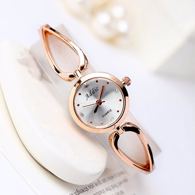 Addic Glamorous-Diva Rose Gold Girl's & Women's Watch.