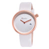 Modor Show Stopper White Ramp Walker's Watch For Women & Girls