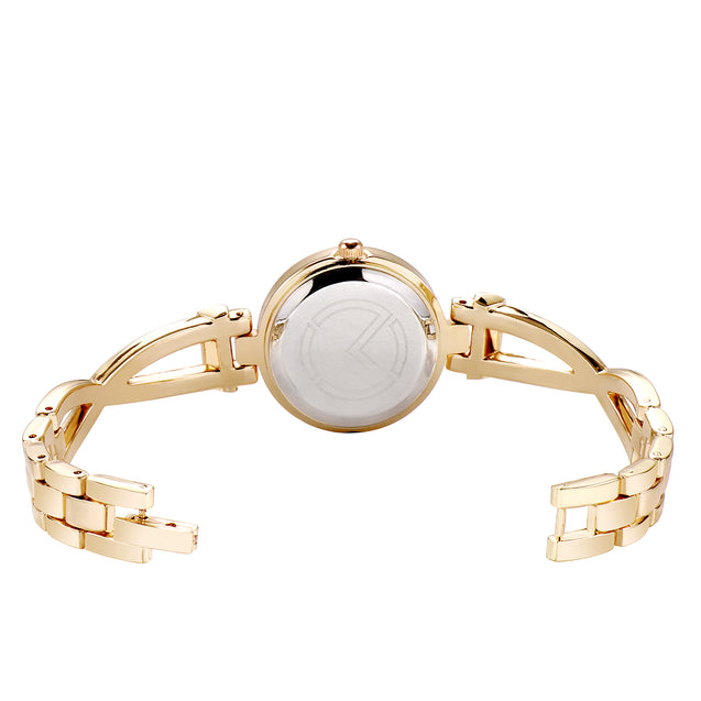 Modor Diva's Choice Gold Wrist Watch for Women & Girls.