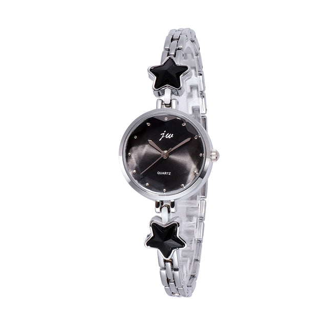 Addic Heritage & Charm Analogue Black Dial Women's Watch.