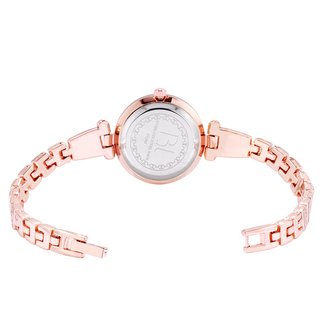 Addic BL Boldly Locked Rose Gold Wrist Watch For Women & Girls.