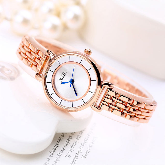 Addic Mythical-Princess Rose Gold Girls & Women's Watch.