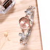 Addic BL Butterflies Dual Tone Silver & Rose Gold Wrist Watch For Women & Girls.