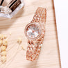 Addic BL Classy Locks Rose Gold Wrist Watch For Women & Girls.