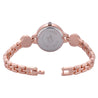 Addic BL Crystal Clear Rose Gold Formal / Casual / Party Multi Purpose Watch For Women & Girls