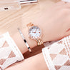 Modor Modern Hues Rose Gold Wrist Watch For Women & Girls