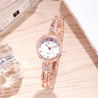 Modor Chunks Of Charm Rose Gold Wrist Watch For Women & Girls