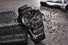 Wrath President's Collection Black Chronograph Luxury Watch For Men