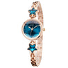 Addic Heritage & Charm Blue & Rose Gold Girls & Women's Watch.