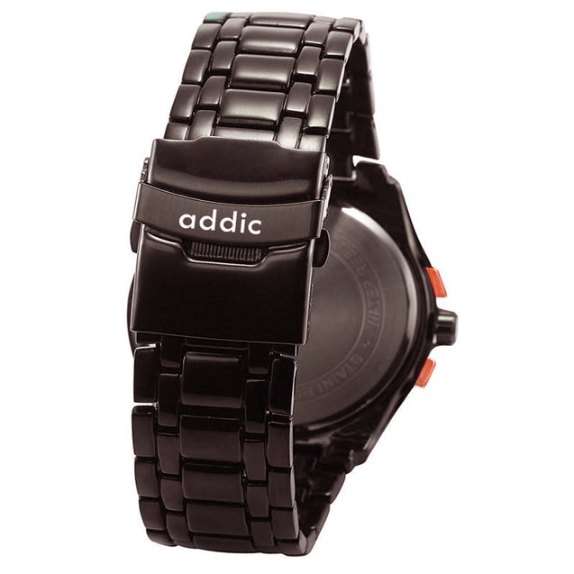 Addic Elegenant & Classy Rosegold Black Dial Watch for Men's & Boys.