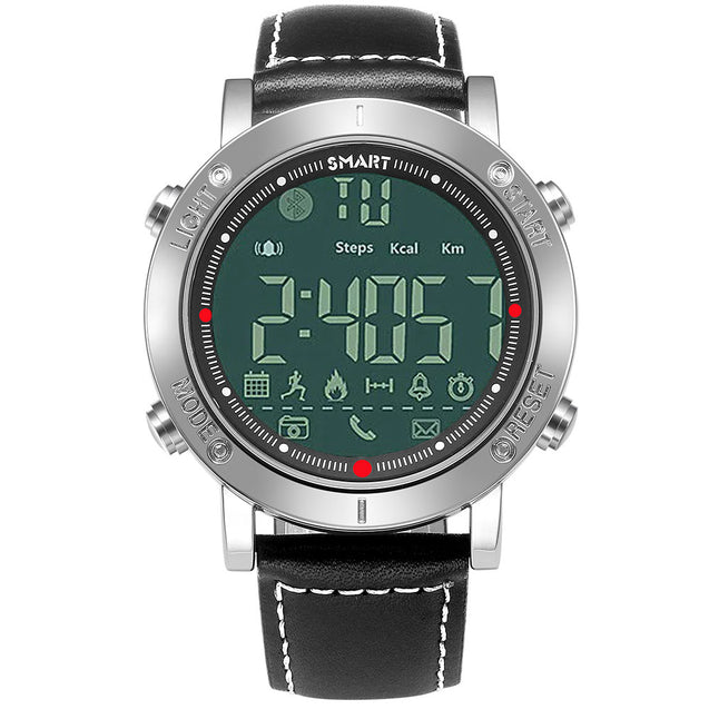 Wrath Smart Bluetooth Connected Black Belt Activewear Smart Watch (Pedometer, Call, Camera Operations, App Notifications, Calories & more -Andriod & iOS Apps available)