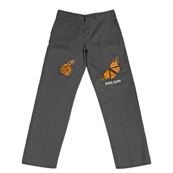 Butterfly Work Pants <br><i>Dark Charcoal</i>