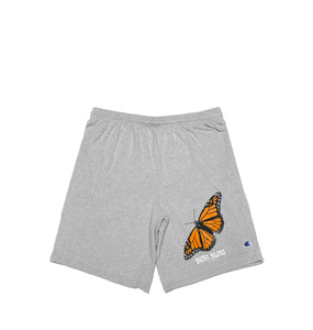 Butterfly Cotton Shorts <br><i>Oxford Grey</i>