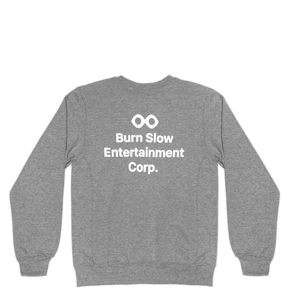 Corp Logo Crewneck <br><i>Oxford Grey</i>