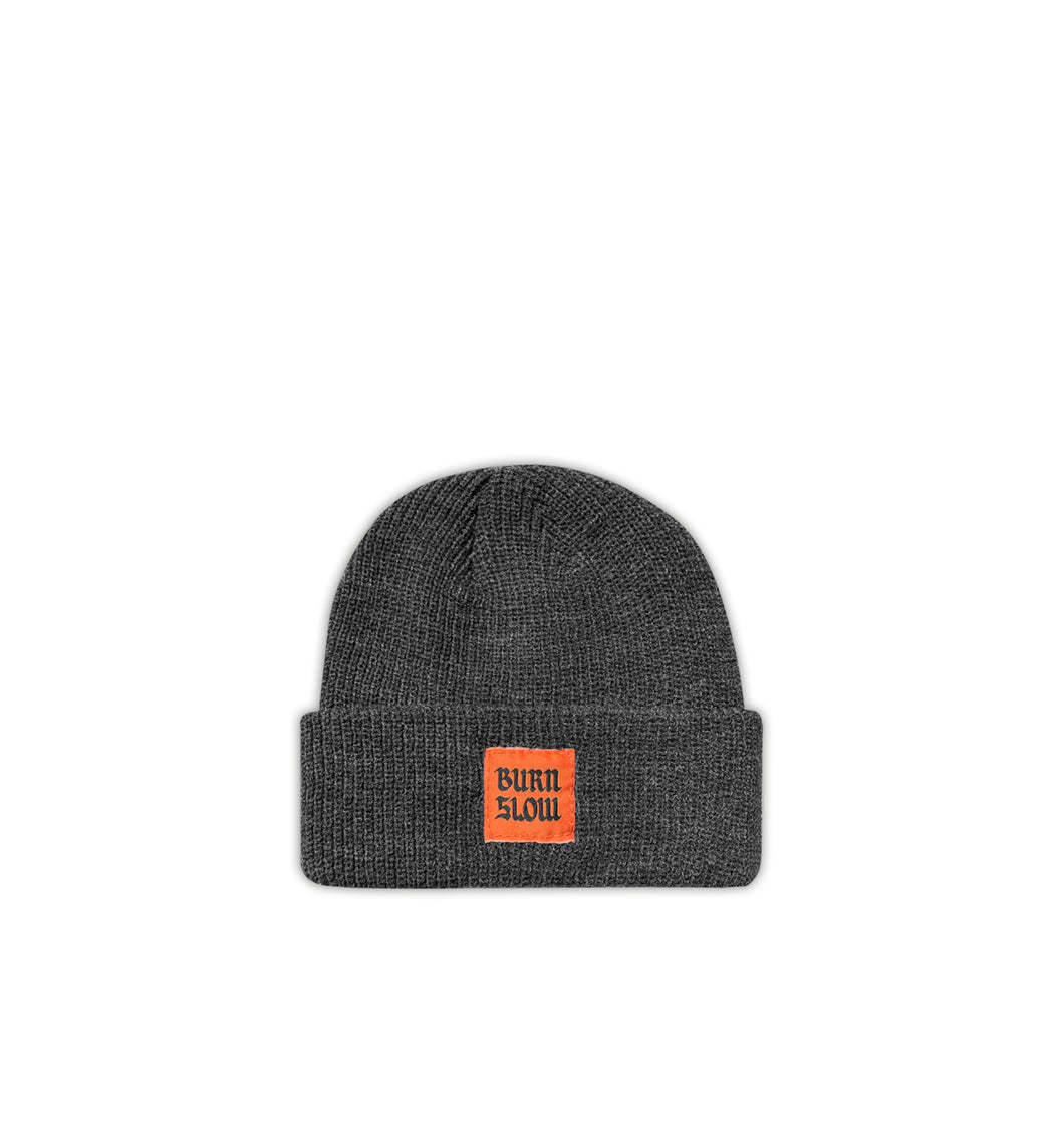 Label Beanie <br><i>Charcoal</i>