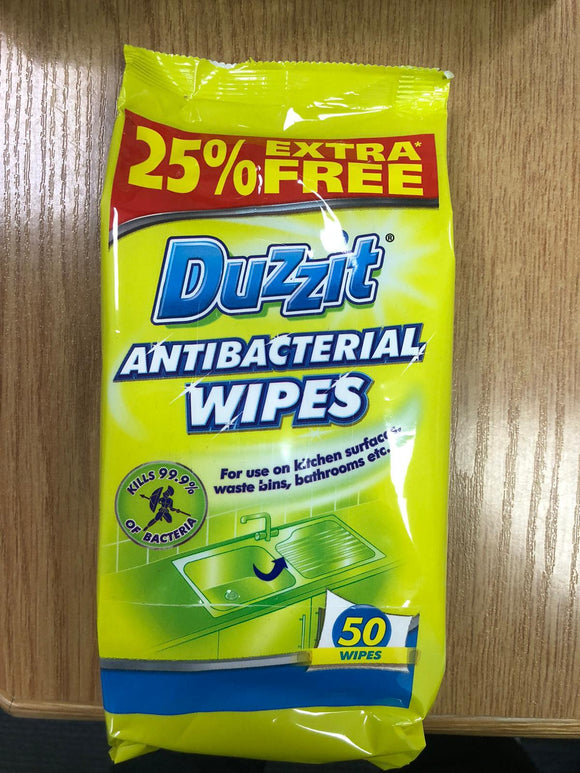 Antibacterial Wipes (50s) from £2.35 each