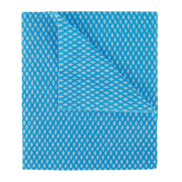 2Work Economy Cloth 420x350mm Blue (BULK Pack of 200) 104420BLUE