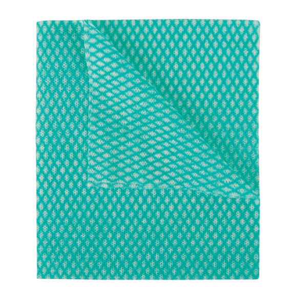 2Work Economy Cloth 420x350mm Green (BULK Pack of 200) 104420GREEN