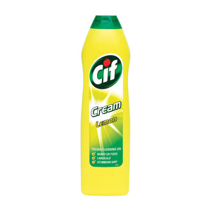 Cif Cream Cleaner Lemon 500ml 1014099 (BULK PACK OF 12)