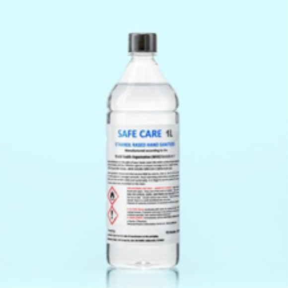 1 Litre 80% Alcohol Hand Sanitiser Bottle