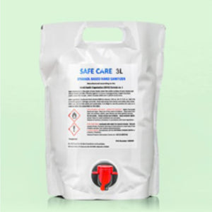 3 Litre 80% Alcohol Hand Sanitising Bag with Tap Dispenser